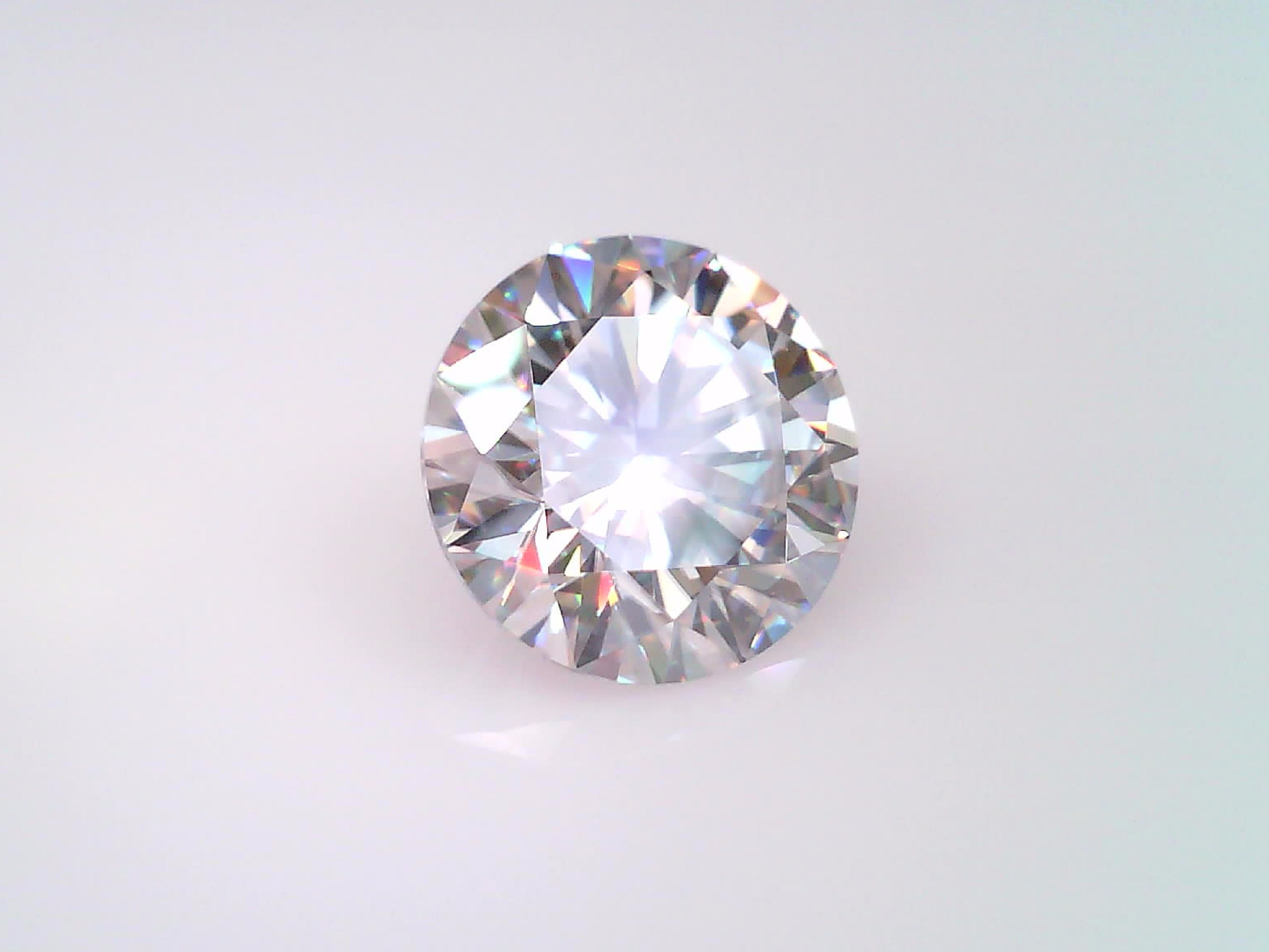 Moissanite H-I Color